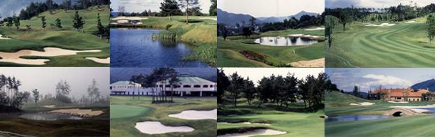 平成8年度~平成19年度 ゴルフ場工事一覧